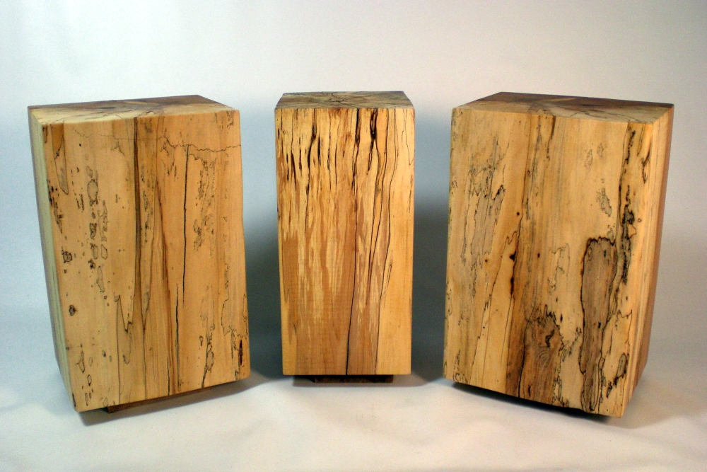 Wilson Creek Woodsmithing Timber Block End Tables